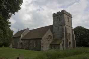 St. Dunstan parish church, Frinsted