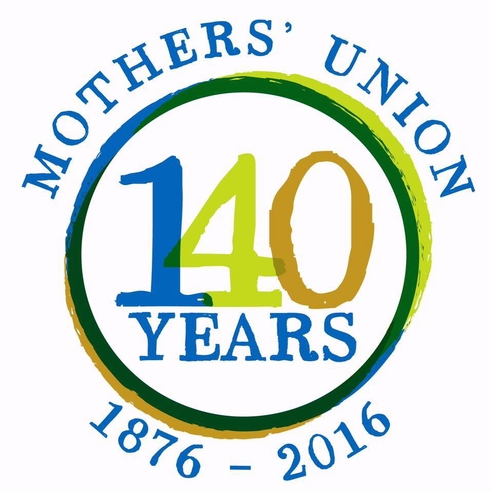 Mothers Union 140 year logo