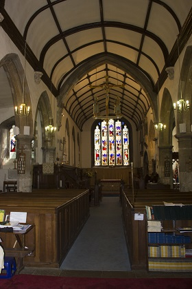 Tunstall Church inside