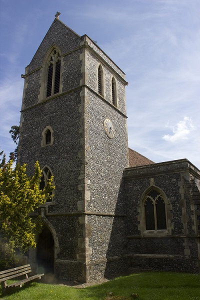 Tunstall Church from the west